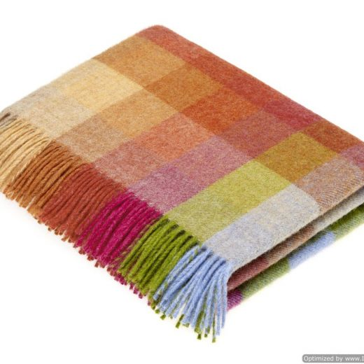 Harley Stripe Sunshine Throw