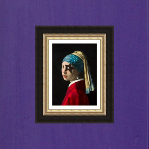 Girl With The Pearl Earring Star Small